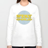 stay gold Long Sleeve T-shirts featuring Stay Gold by abominable