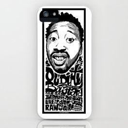 Mr.Ol'Dirty / Rapper's Delight iPhone Case