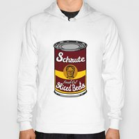 dwight schrute Hoodies featuring Schrute Fresh Cut Sliced Beets  |  Dwight Schrute  |  The Office by Silvio Ledbetter