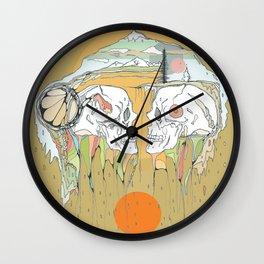 hollow earth Wall Clock