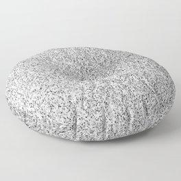 Beautiful Silver glitter sparkles Floor Pillow