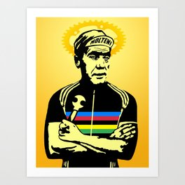 Saint Merckx Art Print
