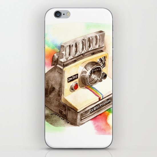 Vintage gadget series: Polaroid SX-70 OneStep camera iPhone & iPod Skin