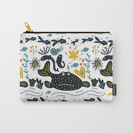 Sea Pattern #2 Carry-All Pouch