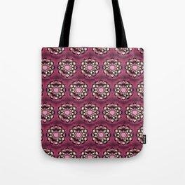 Pink Pelvis Flower Tote Bag