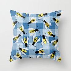 Blueberry Jam Throw Pillow