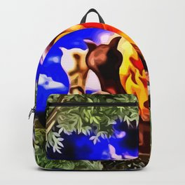 Romanze am Lagerfeuer Backpack