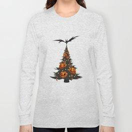 Halloween Christmas Tree - White Long Sleeve T-shirt