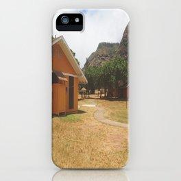 LOST set/Dharma Initiative Camp  iPhone Case
