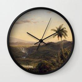 Fredric Church Painting Oil On Canvas Art Artistic Wall Clock