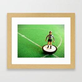 Newcastle United Subbuteo Player 1982 Framed Art Print