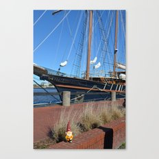 Pirate Gnome Canvas Print