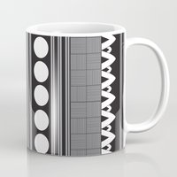 native Mugs featuring Native  by flamboyancedesigns