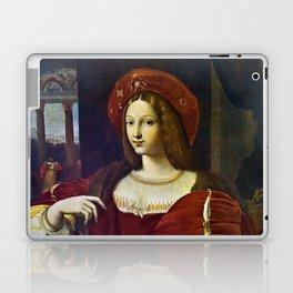 Joanna of Aragon by Raphael Laptop & iPad Skin