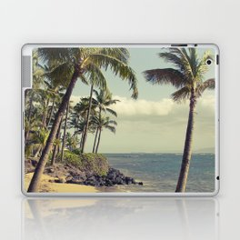 Maui Lu Beach Kihei Maui Hawaii Laptop & iPad Skin