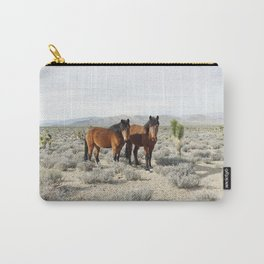 Desert Horse Pair Carry-All Pouch