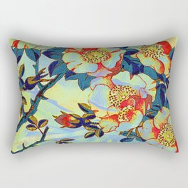under the apple tree Rectangular Pillow
