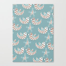 Kissmas Canvas Print