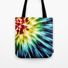 Abstract Dark Tie Dye Tote Bag