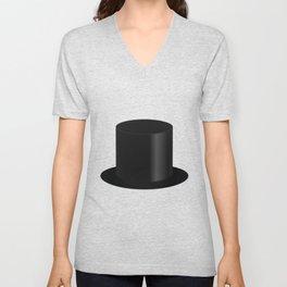 Top Hat Unisex V-Neck