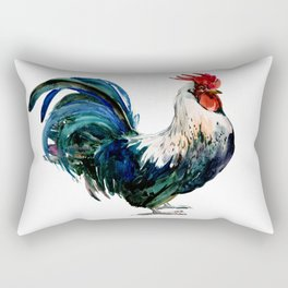 Rooster Decor, Beautiful Rooster French country style design artwork, kitchen Rectangular Pillow