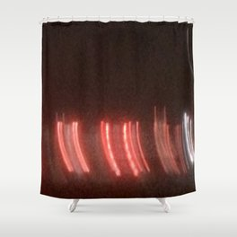 Abstracte Light Art in the Dark 11 Shower Curtain