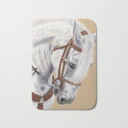 Horse Portrait 01 Bath Mat