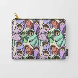 Russian Dolls Pattern Carry-All Pouch