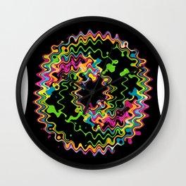 Funky splash Wall Clock