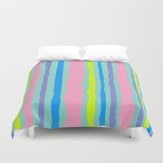 SUMMER STRIPE Duvet Cover