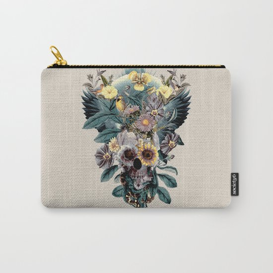Skull and Snake Carry-All Pouch