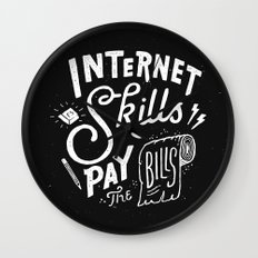 Pay the Bills Wall Clock