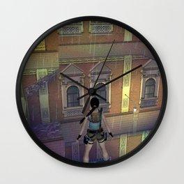 Explore Venice Wall Clock