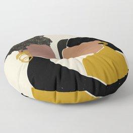 Black Love No. 1 Floor Pillow