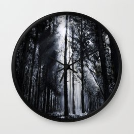 In the Woods V Wall Clock