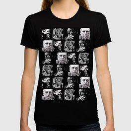 BUKOWSKI - 4 faces T-shirt