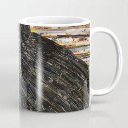 Colorful Black Bear Collage by C.E. White Coffee Mug