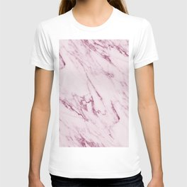 Mauve Pink Marble T-shirt