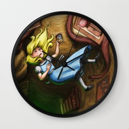 Wonderland Wall Clock