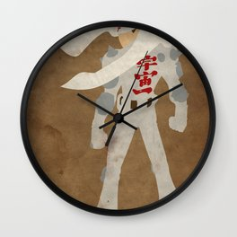 """Will pilot giant robot for money."" (Jin Saotome) Wall Clock"