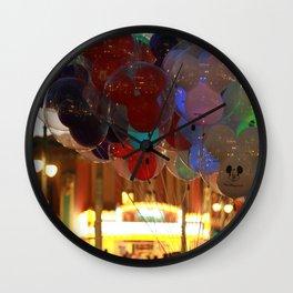 Ballons Wall Clock