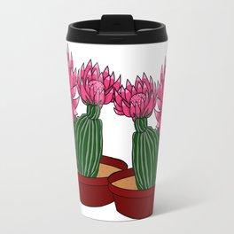 Christmas Cactus Travel Mug