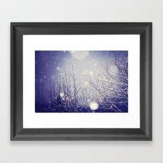 winter solstice Framed Art Print