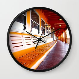 Staten Island Ferry Wall Clock