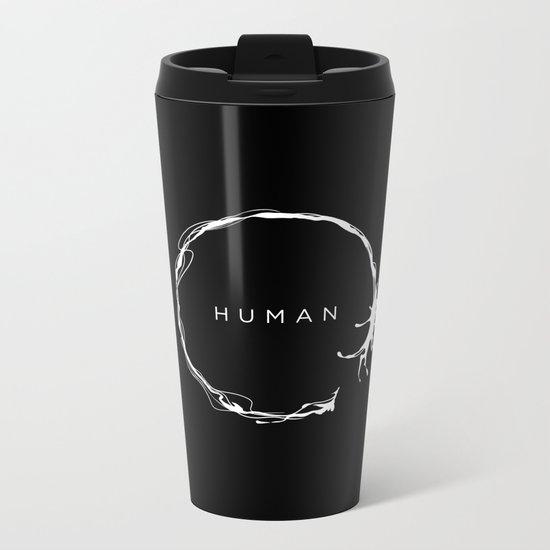HUMAN II Metal Travel Mug