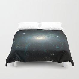 Dusty spiral galaxy Duvet Cover