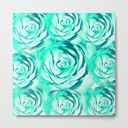 Rose background #society6 #decor #buyart #artprint Metal Print