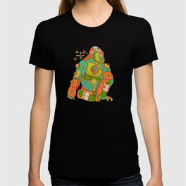 Gorilla, cool wall art for kids and adults alike T-shirt