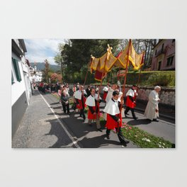 Procession Canvas Print