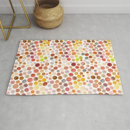 Different Polka Dots Rug